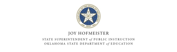 Joy Hofmeister State Seal