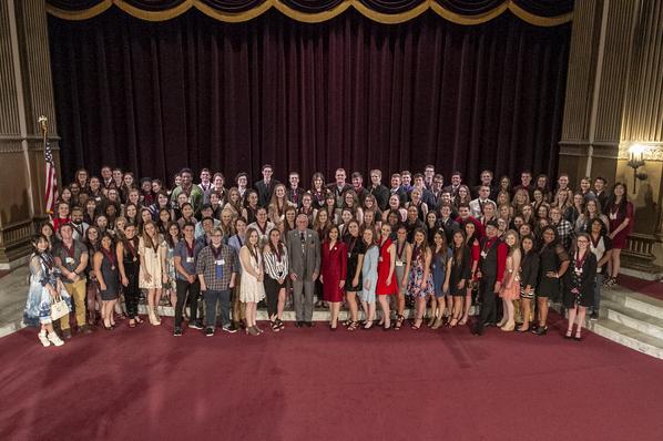 S.S. Arts Awards Student Recipients 2018