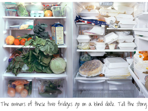 Healthy Fridge, Takeout Fridge