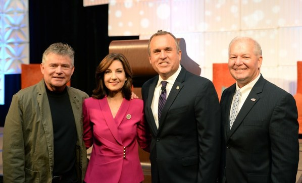 Hofmeister with Summit Guest Speakers