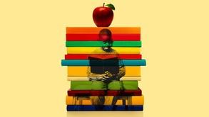 black student books apple