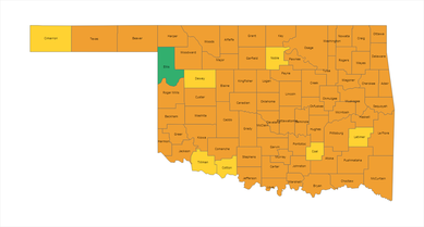 COVID-19 Alert map