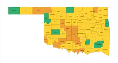 OSDH Alert Map