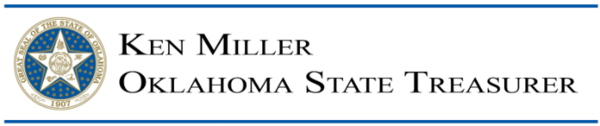 Ken Miller - Oklahoma State Treasurer Header (high res)
