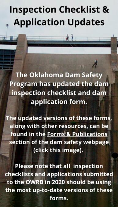 Dam safety inspection darker