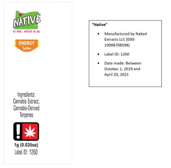Native label recall