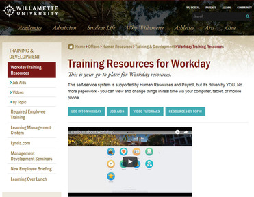 Workday for Willamette