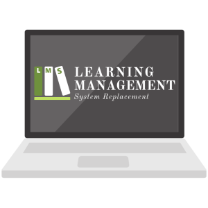 Learning Management Replacement Project logo