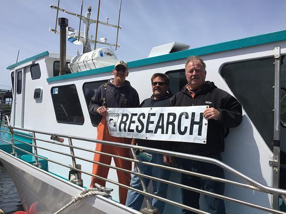 Charter fishing boat