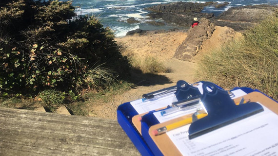 Visitor surveys at Cape Perpetua