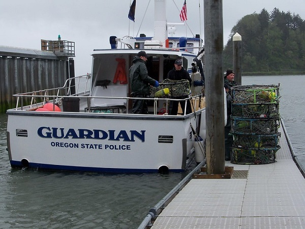 OSP enforcement boat