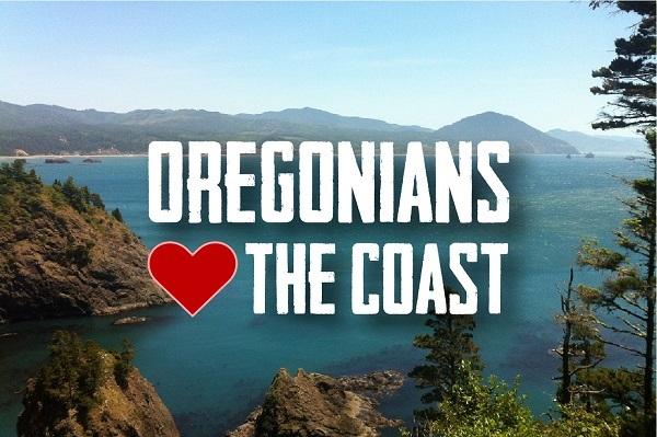 Oregonians Love the Coast