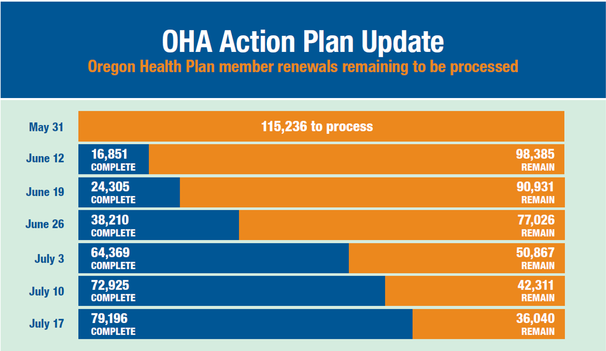 OHA Action Plan Update