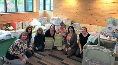 Klamath community baby shower