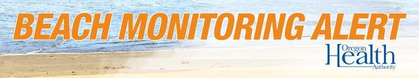 Oregon Health Authority Beach monitoring alert