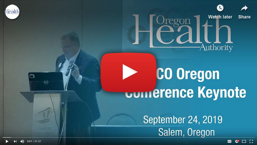 CCO Oregon keynote