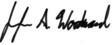 Jennifer Woodwards signature