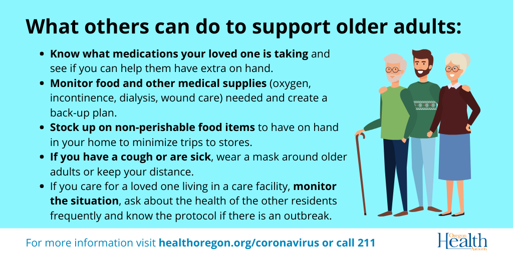What others can do to support older adults
