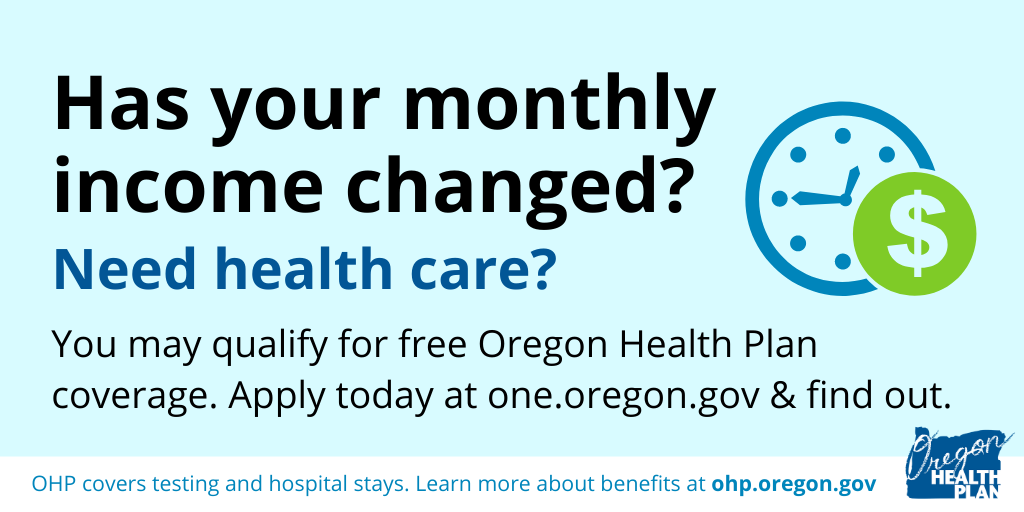 If your work situation has changed, you may quality for OHP