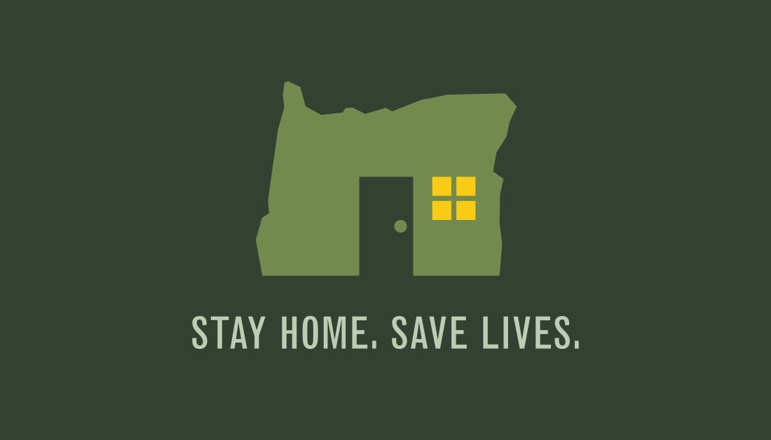 Stay Home Save Lives card