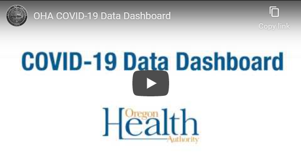 New dashboard to help visualize COVID-19 data in Oregon
