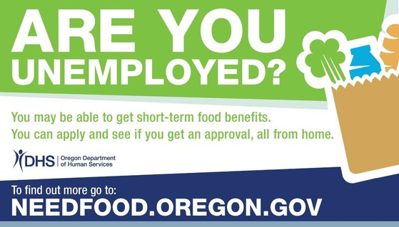 Are you unemployed you may be able to get short-term food benefits