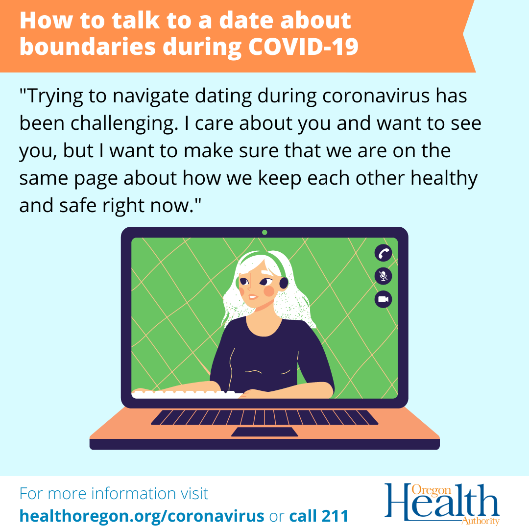 How to talk to a date about boundaries during COVID-19