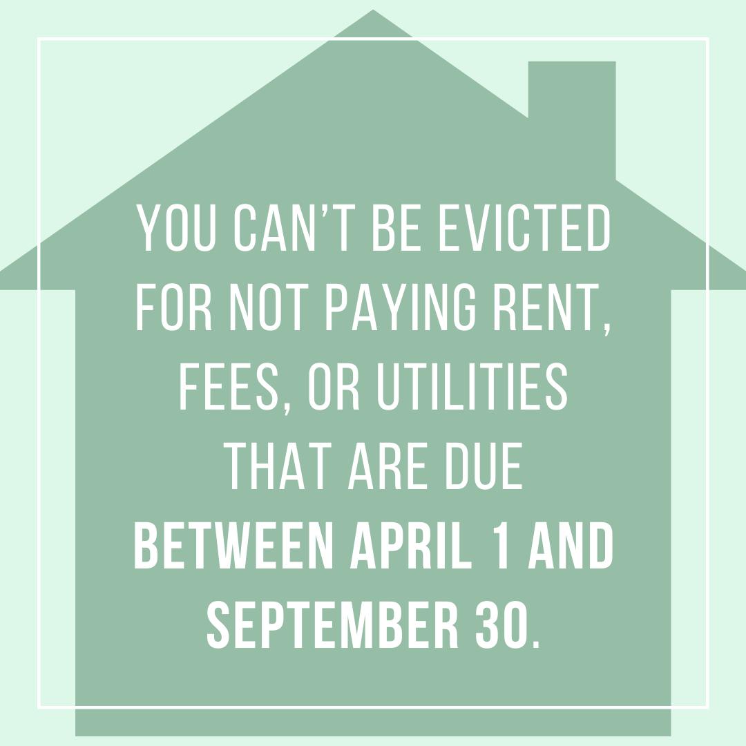 Reminder about Oregon's eviction moratorium