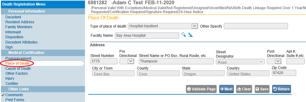 placeofdeathpage