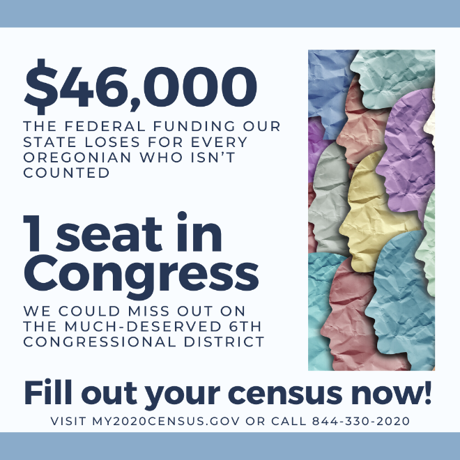 Don't forget: Complete the 2020 Census