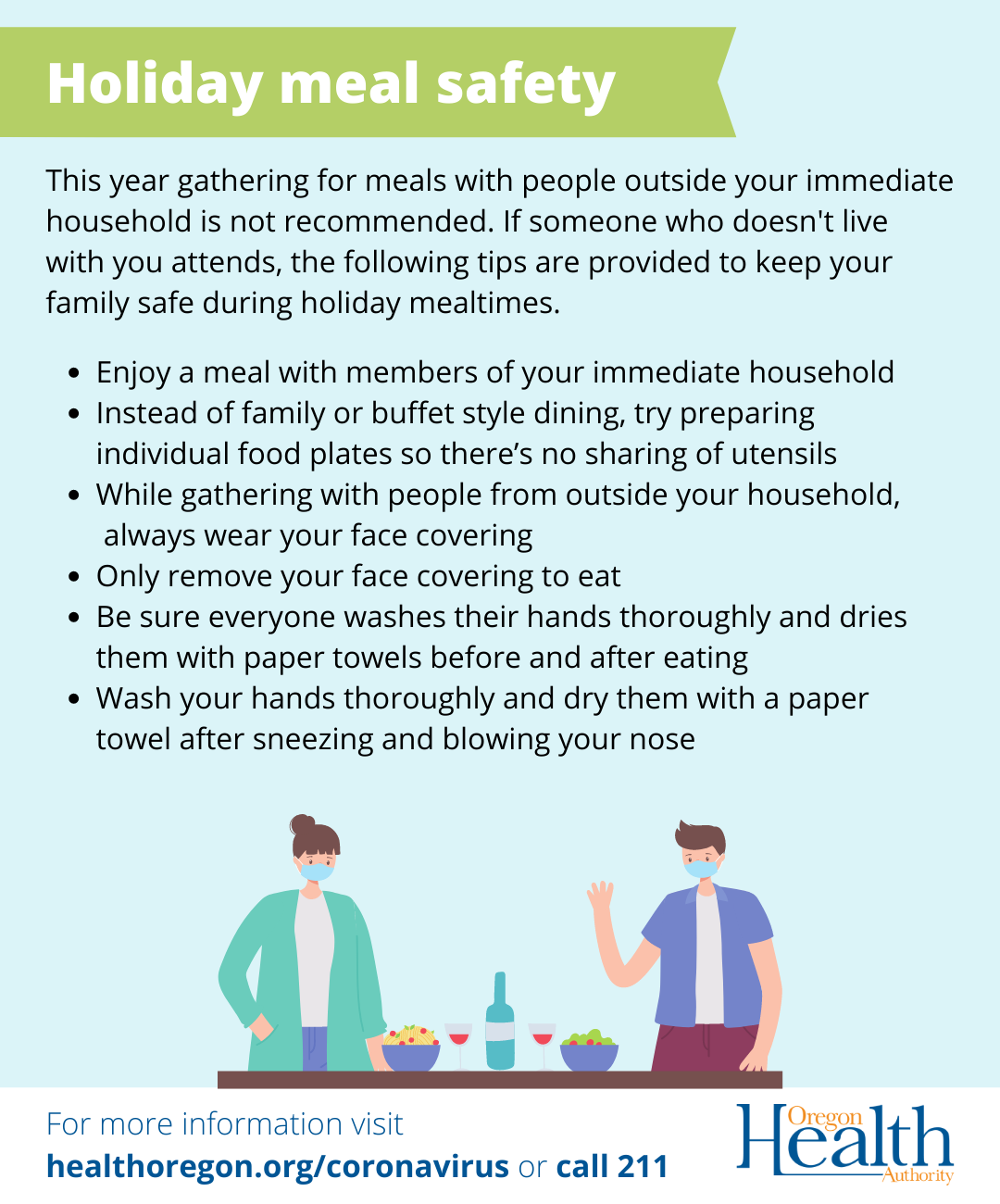 Holiday Meal Safety - English