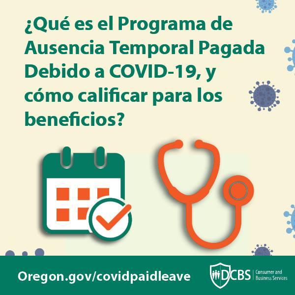 Que es el programa de ausencia temporal pagada debido a covid-19, y como calificar para lost beneficios