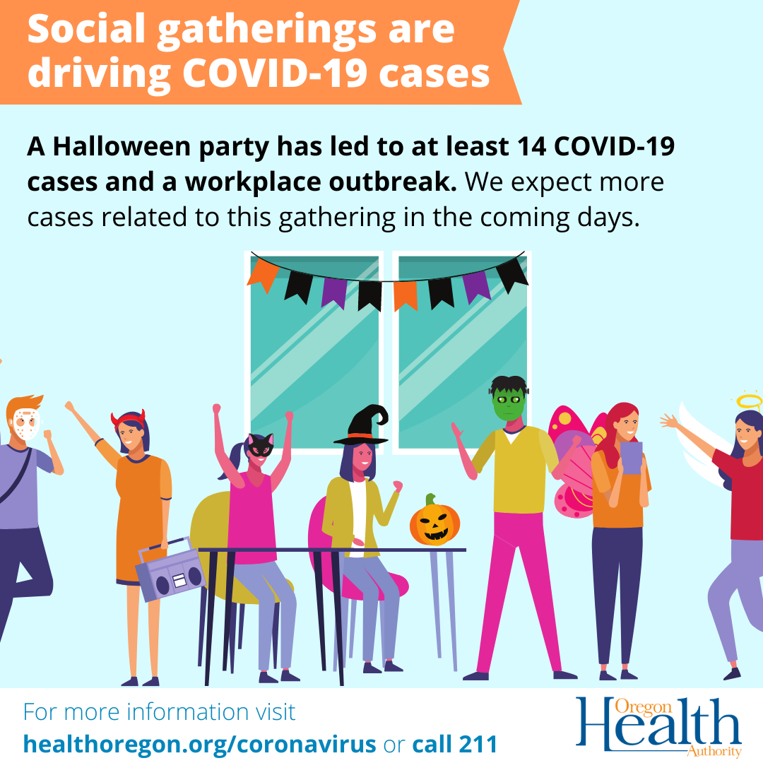 Social gatherings are driving COVID-19 cases