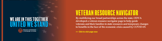 Veteran Resource Navigator and other resources available