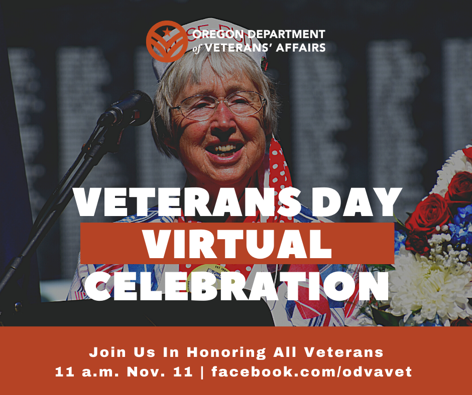 Celebrate Oregon veterans and military service members