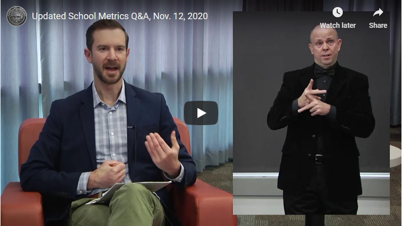 In case you missed it: Facebook Q&A on school metrics