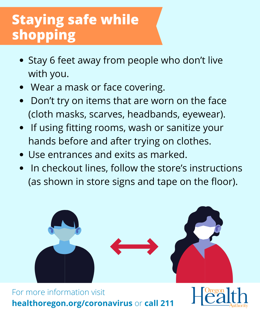 Staying safe while shopping