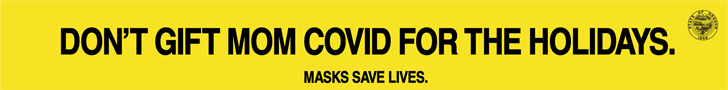 don't gift mom covid for the holidays masks save lives