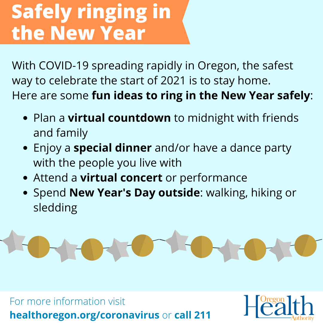 Fun ways to ring in the new year safely