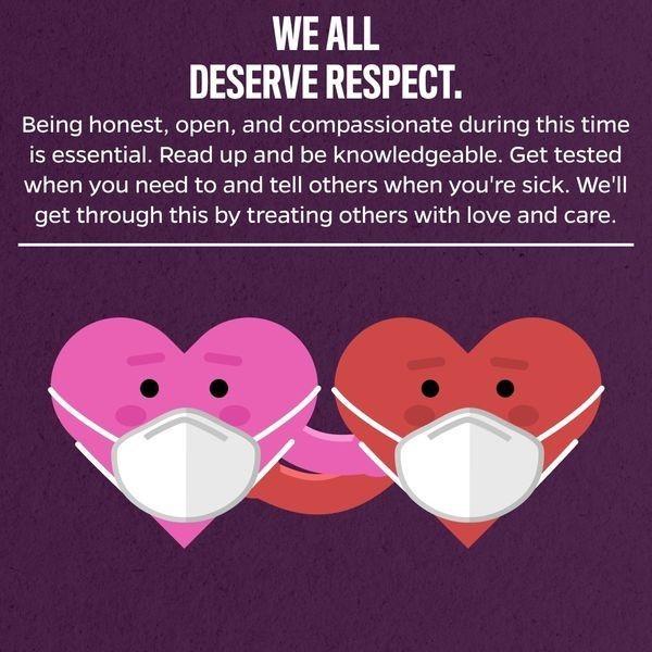 We all deserve respect