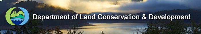 oregon department of land conservation and development banner - river