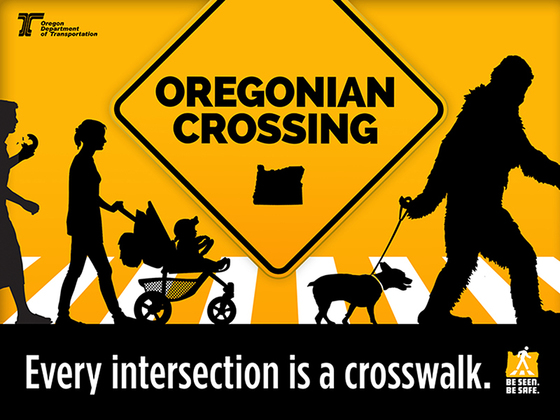 Oregonian crossing