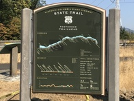 New signs have been installed along the Historic Highway State Trail.