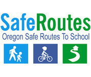 Oregon Safe Routes to School logo