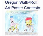 Oregon Walk+Roll Art Poster Contests
