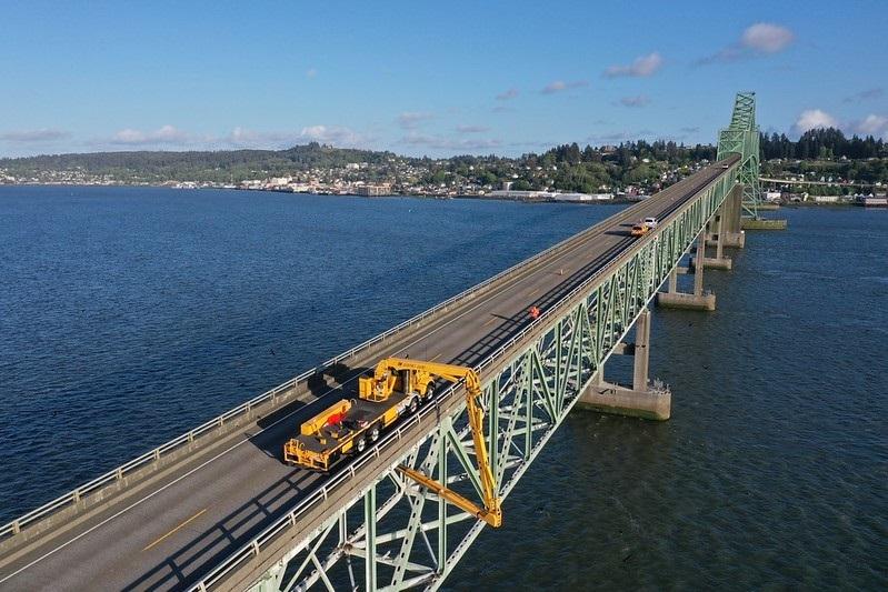 Astoria-Megler Bridge Inspection