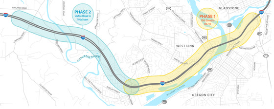 I-205 Project Area