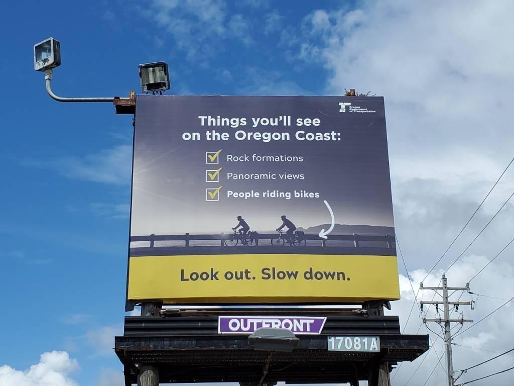 Coast Bike Billboard