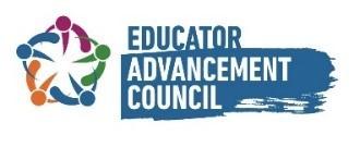 Educator Advancement Council