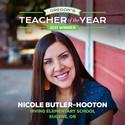 2021 Oregon Teacher of the Year Nicole Butler-Hooton